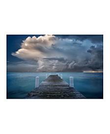 "- Dreamy Dock Canvas Art, 27"" x 36"""