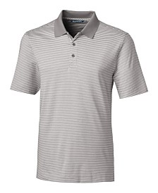 Cutter and Buck Men's Big and Tall Forge Tonal Stripe Polo