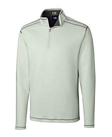 Men's Big & Tall Long Sleeves Evergreen Reversible Overknit Sweatshirt