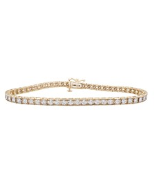 Diamond Miracle Plate Tennis Bracelet (1 ct. t.w.) in 10k Gold or White Gold