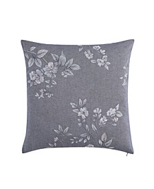 Riva Square Embroidered Decorative Pillow