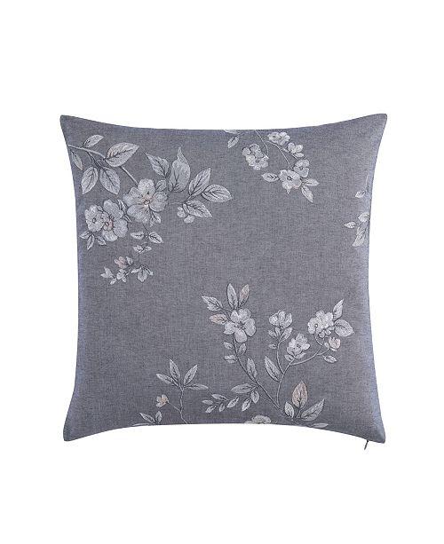 Charisma Riva Square Embroidered Decorative Pillow