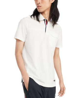 Men's Custom-Fit Talon Pieced Shirt, Created for Macy's