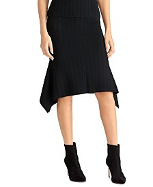 RACHEl Rachel Roy Handkerchief-Hem Pencil Skirt, Created for Macy's