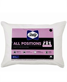 Sealy 100% Cotton All Positions Standard/Queen Pillow