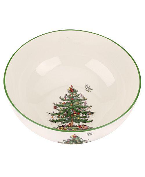 Spode Christmas Tree Large Round Bowl