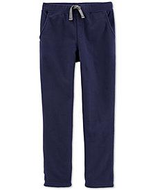 Carter's Little & Big Boys Pull-On Fleece Pants