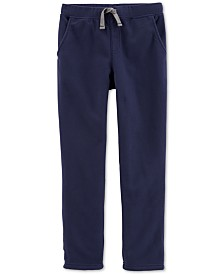 Carter's Little & Big Boys Pull-On Fleece Pants