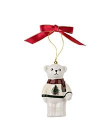 Christmas Tree Teddy Bear Ornament