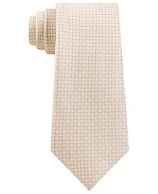 Michael Kors Men's Digital Squares Classic Check Silk Tie