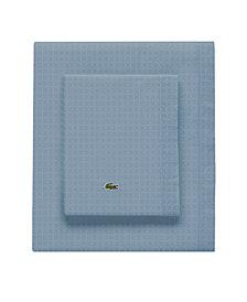 Lacoste Rings Pomegranate Twin/XL Sheet Set