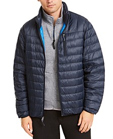 Men's Packable Down Puffer Jacket, Created for Macy's