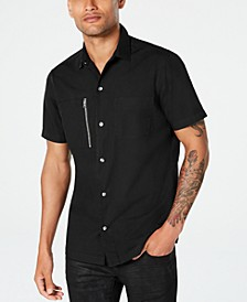 INC Men's Phillips Utility Shirt, Created for Macy's