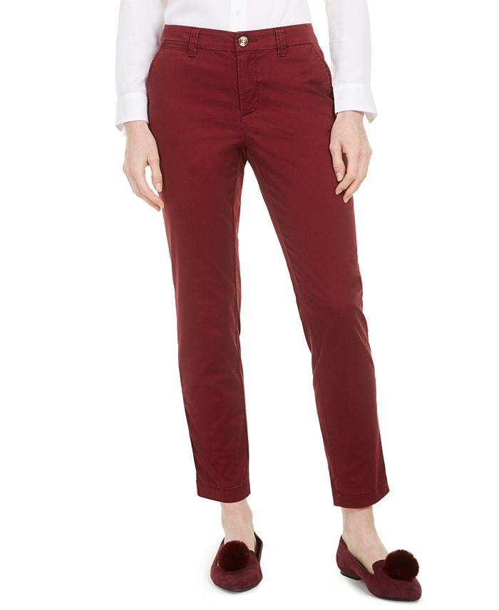 Maison Jules - Slim Ankle Pants