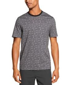 DKNY Men's Geoprint Tonal Dot T-Shirt