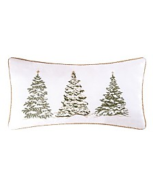 C&F Home Golden Greenery Embroidered Pillow