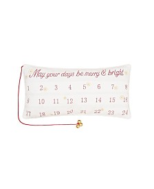 C&F Home Merry Bright Advent Pillow