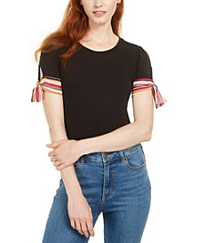 Tie-Sleeve Top, Created for Macy's