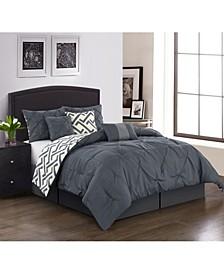 Loren 7-Piece Queen Comforter Set