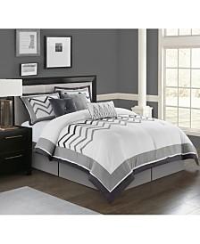 Linnet 7-Pc. Queen Comforter Set