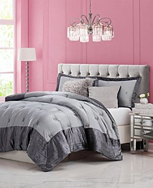 Functional Glam 3-Piece King Comforter Set