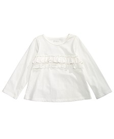 Baby Girls Cotton Ruffled T-Shirt, Created for Macy's