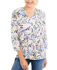 Motherhood Maternity Printed Nursing Top