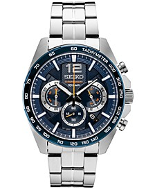Men's Essentials Chronograph Stainless Steel Bracelet Watch 43.9mm