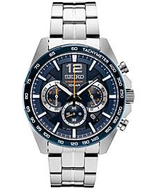 Men's Essentials Chronograph Stainless Steel Bracelet Watch 43.9mm