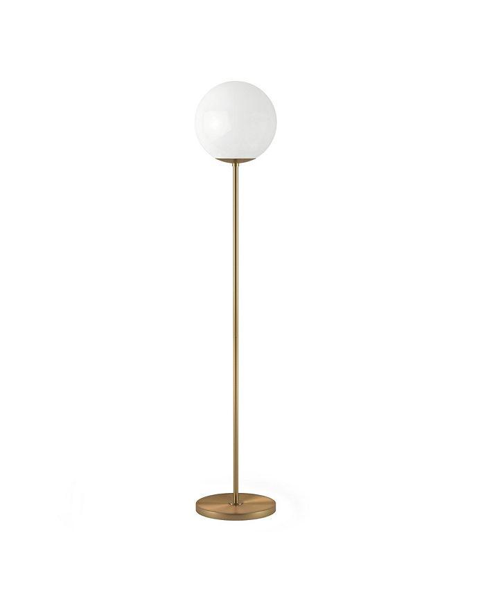 Hudson & Canal - Theia Globe Stem Floor Lamp