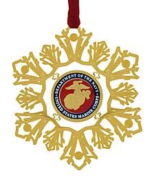 U.S. Marine Corps Snowflake Ornament