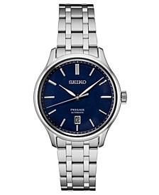 Men's Automatic Presage Stainless Steel Bracelet Watch 41.7mm