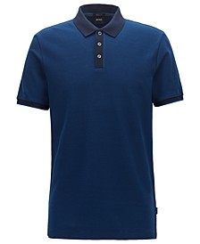 BOSS Men's Parlay Two-Tone Polo Shirt