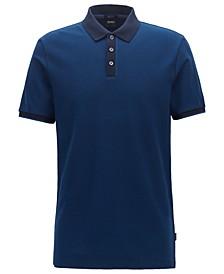 BOSS Men's Parlay Two-Tone Polo Shirt