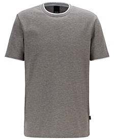 BOSS Men's Tiburt Eco-Friendly Cotton T-Shirt