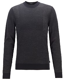 BOSS Men's Bilivio Slim-Fit Sweater