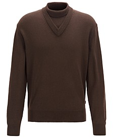 BOSS Men's B-Curator Regular-Fit Sweater