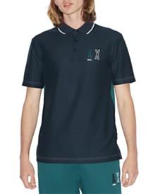 A|X Armani Exchange Men's Stenciled Logo Polo Shirt
