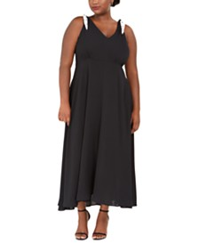 Betsey Johnson Plus Size Maxi Dress