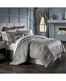 Five Queens Court Mackay Queen 4 Piece Comforter Set