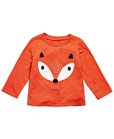 Baby Boys Cotton Fox T-Shirt, Created for Macy's