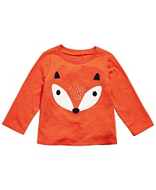 First Impressions Toddler Boys Fox T-Shirt, Created for Macy's