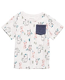 Baby Boys Forest Friends T-Shirt, Created for Macy's