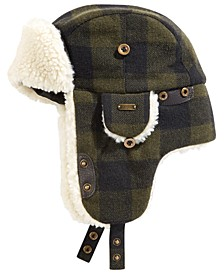 Men's Plaid Trapper Hat
