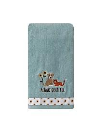 Saturday Knight Ltd Always Grateful 2 Piece Hand Towel Set