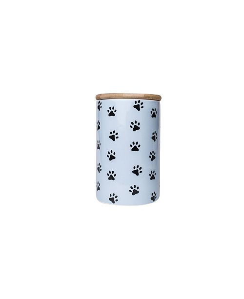 Park Life Designs Pawz 35 Oz Pet Treat Jar