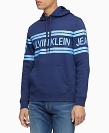 Calvin Klein Jeans Men's Varsity Logo Hoodie