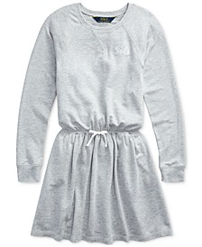 Big Girls French Terry Ruffle Dress