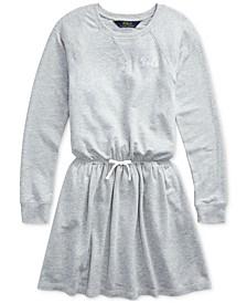 Big Girls French Terry Ruffle Dress
