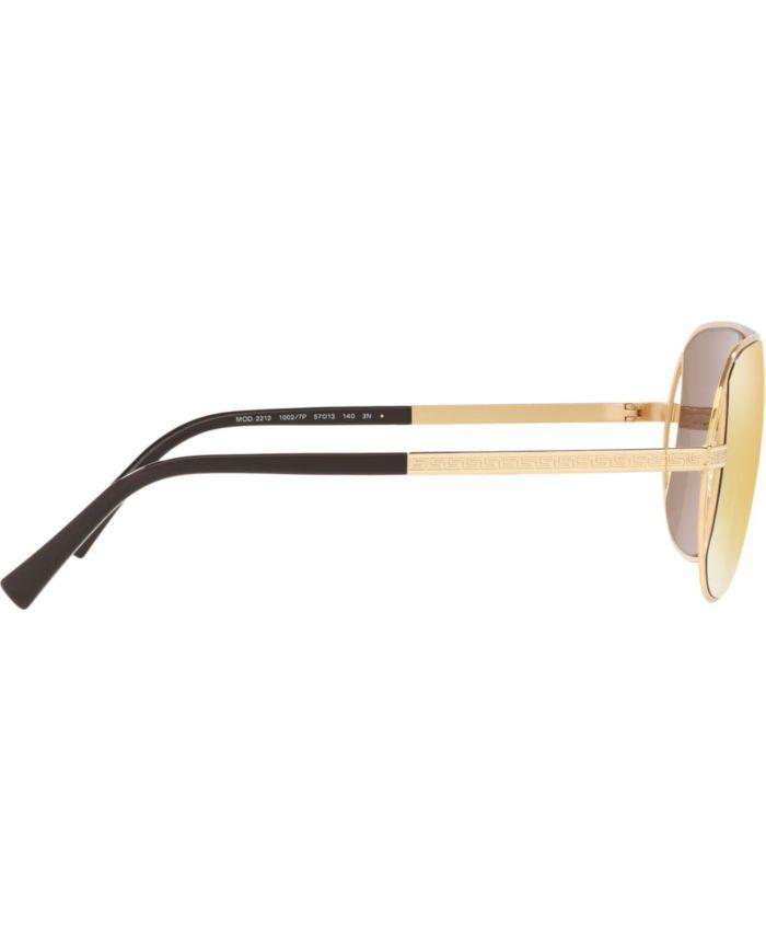 Versace Sunglasses, VE2212 57 & Reviews - Sunglasses by Sunglass Hut - Men - Macy's